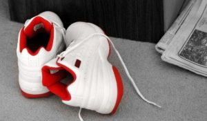 white BB Shoes